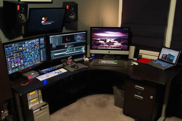 Видео продюсер видеомонтаж рабочая станция Mac