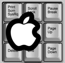 Как перейти на страницу вверх и вниз на клавиатуре Mac