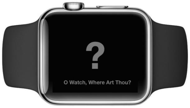 Apple Watch помечаются как отсутствующие с помощью блокировки активации