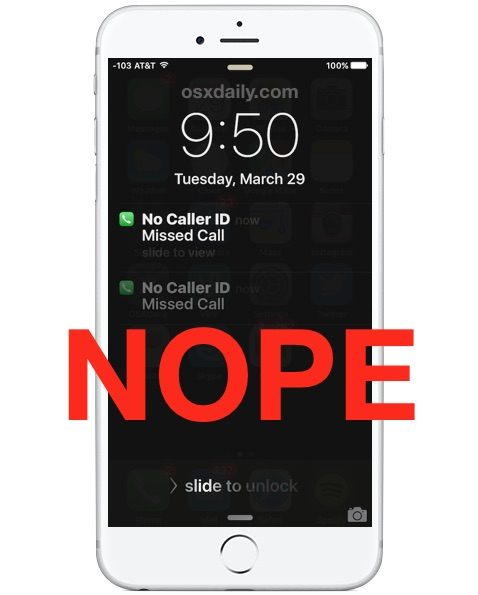 Block unknown callers on iPhone
