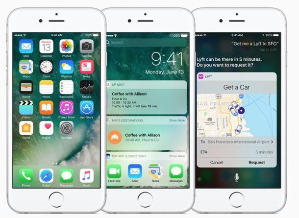 iOS 10 на iPhone