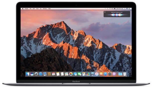 MacOS Sierra на Mac