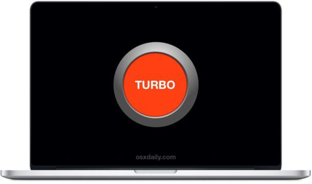 Turbo Boost на MacBook