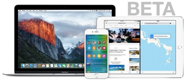 MacOS Beta and iOS Beta