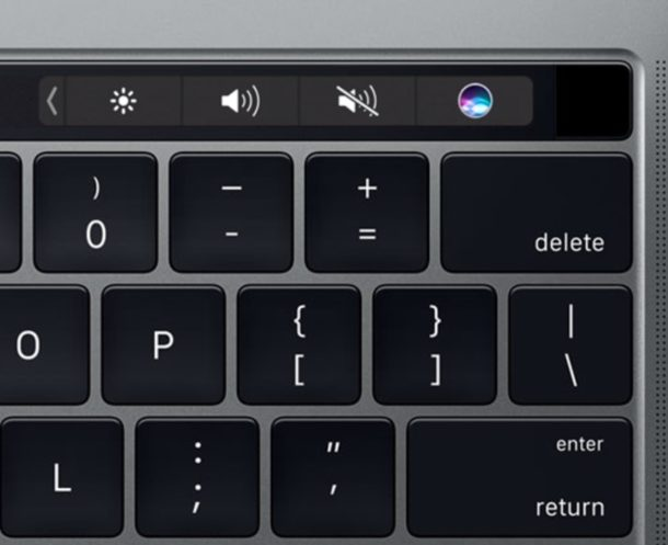 Refresh the Touch Bar on Mac