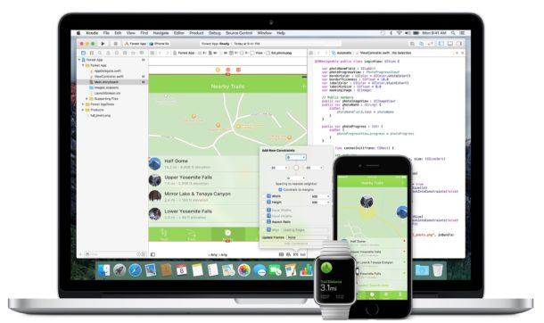 Загрузки бета-версии 1 для macOS High Sierra и iOS 11
