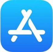 Логотип App Store в iOS