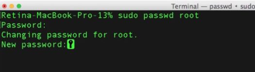 Stop no password root login but in macOS High Sierra from command line