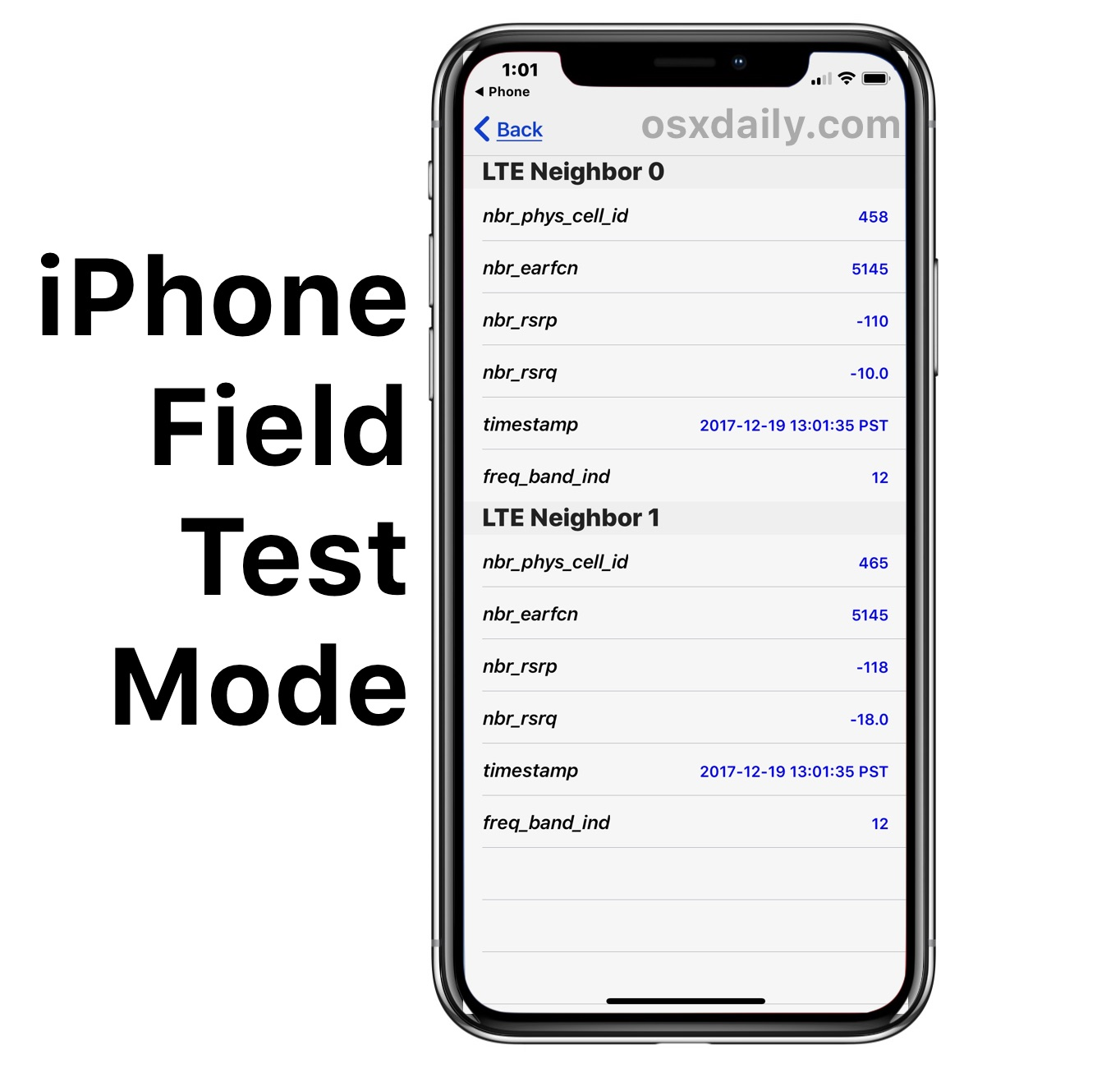 How To Use Field Test Mode In Ios 12 Amp Ios 11 And Iphone X