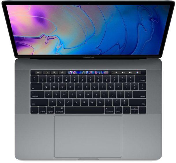 MacBook Pro с панелью Touch Bar