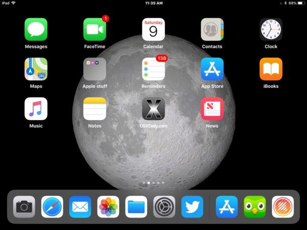 Как делать скриншоты на новом iPad Pro
