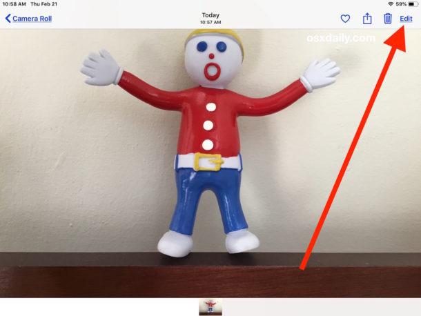 Как добавить рамку к фотографии на iPhone или iPad
