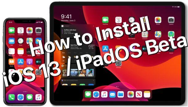 Как установить бета-версию iOS 13 или бета-версию iPadOS