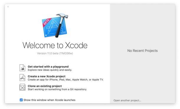 Xcode необходим для установки бета-версии iOS 13