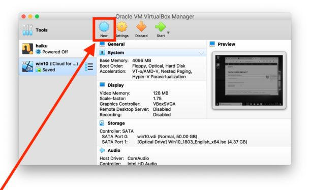 How to open a VMDK file in VirtualBox