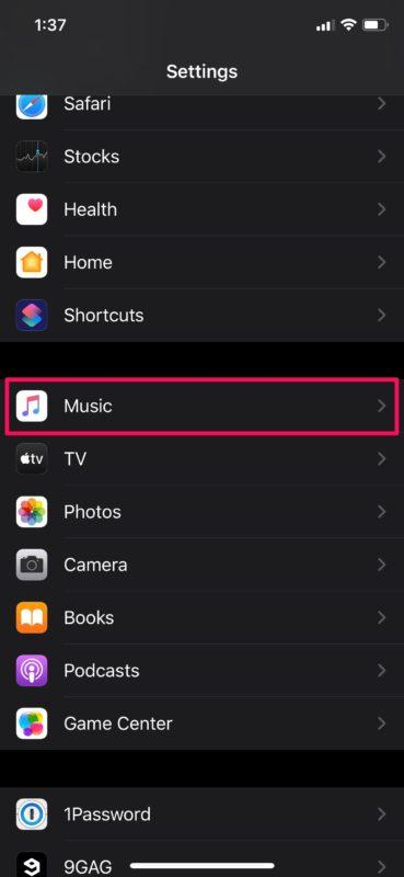 Как включить музыкальную библиотеку iCloud на iPhone