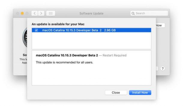 MacOS Catalina 10.15.3 beta 2 скачать