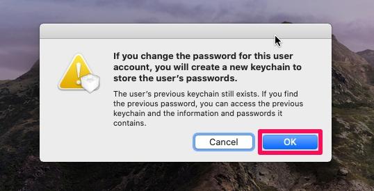Как сбросить пароль MacOS в MacOS Catalina, Big Sur, Mojave