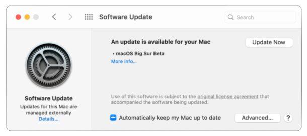 Скачать бета-версию MacOS Big Sur
