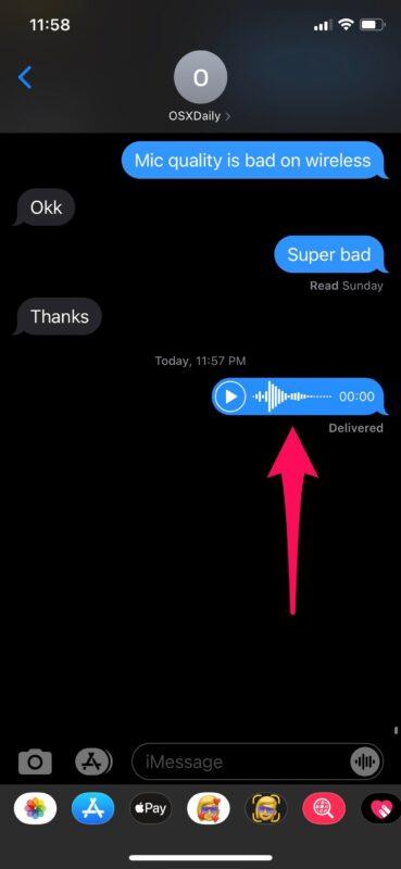 Как отправлять аудиосообщения с помощью Siri с iPhone