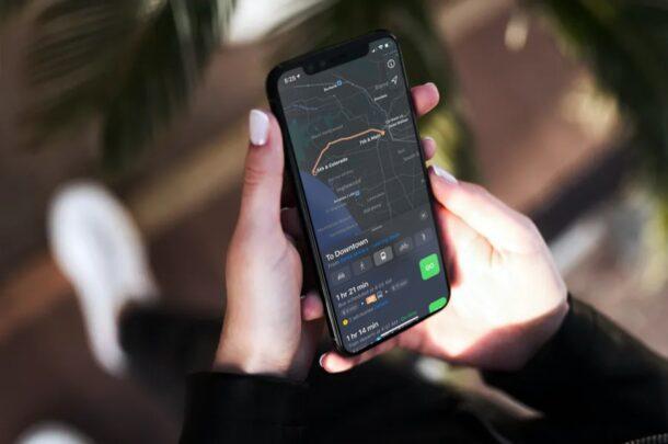 Как изменить метод навигации по умолчанию на iPhone