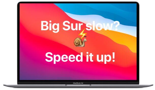 Если macOS Big Sur тормозит, вот советы, как его ускорить