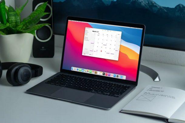 Как делиться календарями с Mac