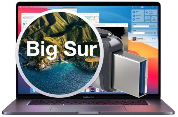 Загрузочный USB-установщик MacOS Big Sur