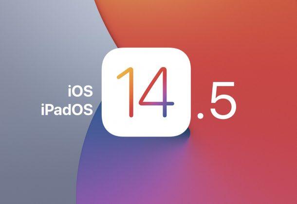 iOS 14.5 и iPadOS 14.5