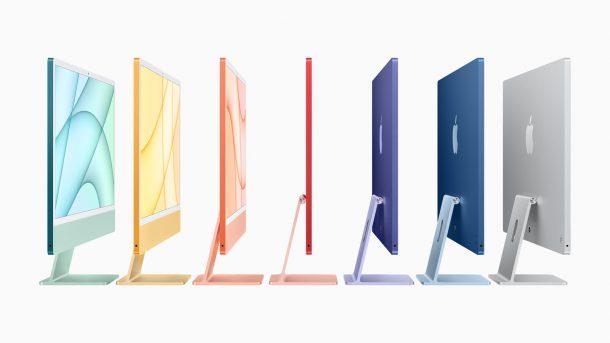 Модельный ряд iMac M1