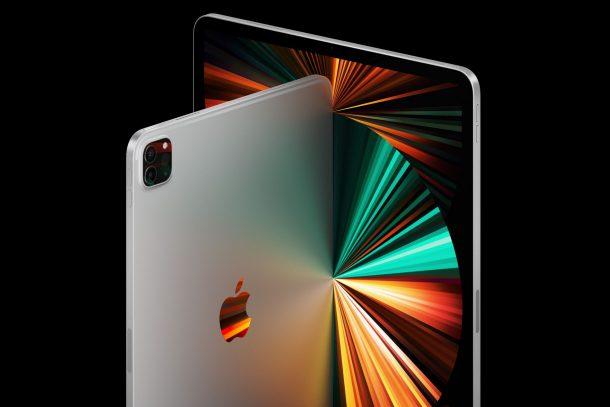 Возьмите новые обои M1 для iPad Pro