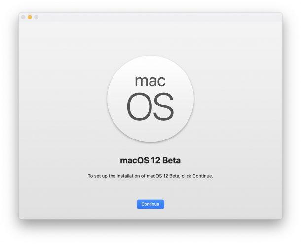 Как установить бета-версию macOS 12 monterey