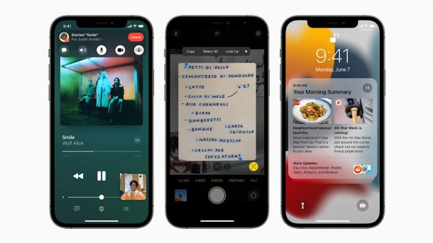 iOS 15 на iPhone