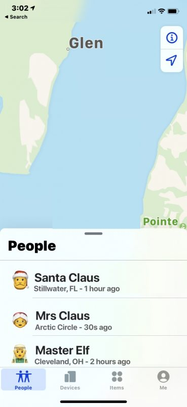 Cómo actualizar la ubicación en Buscar mi
