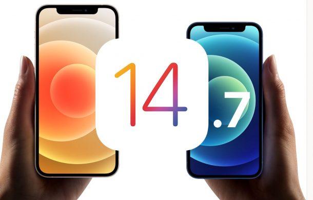 iOS 14.7 обновить