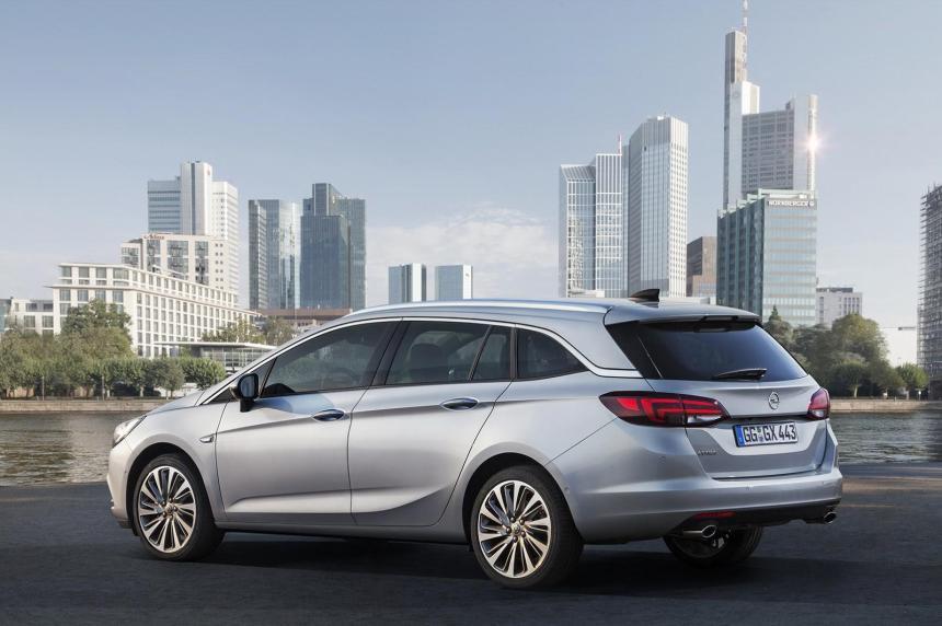2016 Opel Astra Sports Tourer Resim Galerisi