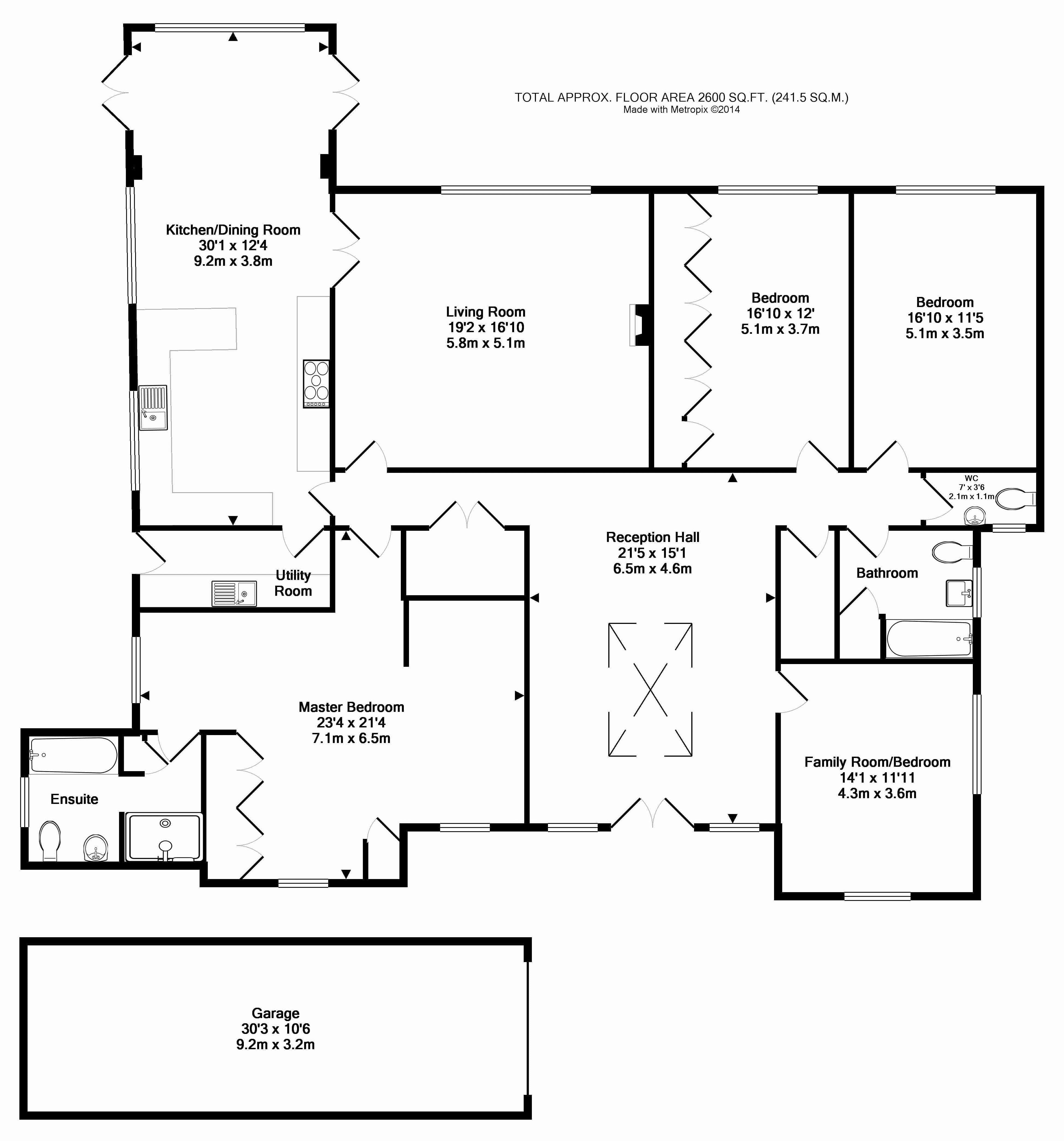 4 Bedroom Detached House For Sale In Letty Green Letty