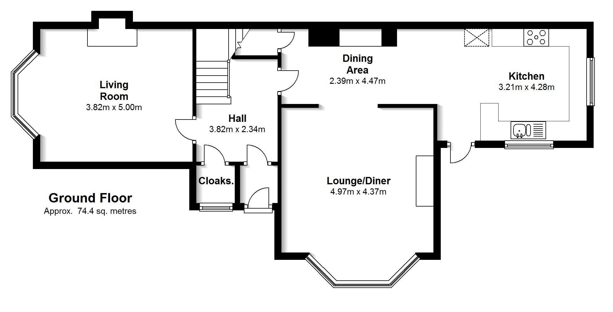 3 Bedroom Semi Detached House For Sale In Walton Avenue