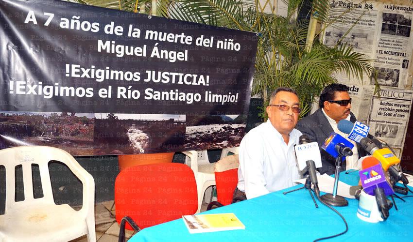 Mañana viernes 13 de febrero se cumplen siete años de la muerte del niño Miguel Ángel López Rocha, quien murió intoxicado por arsénico y otros metales pesados luego de haber caído al río; desde ese tiempo a la fecha, la situación no ha mejorado