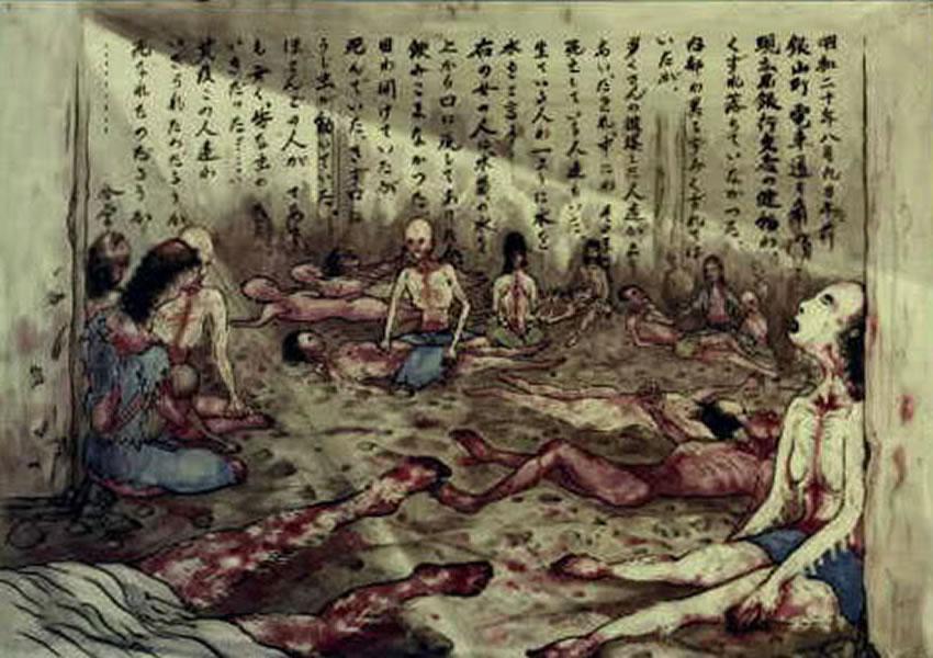 Otro apunte de un testigo del sufrimiento de la población de Hiroshima