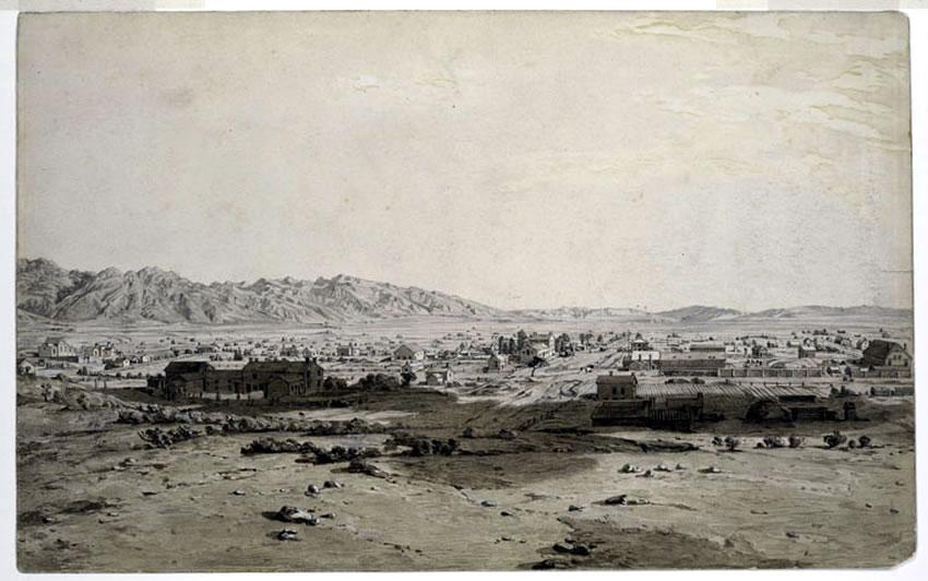 Valle de Sal Lake, en 1847