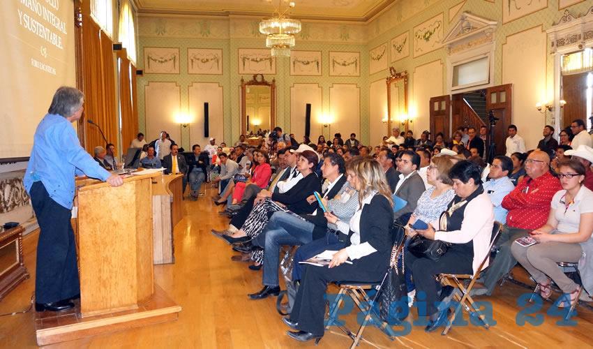 Rodolfo García Zamora: La sociedad mostró hartazgo e indignación, necesidad por combatir la pobreza, empleos, alimentación, salud, educación y seguridad (Foto: Merari Martínez Castro)