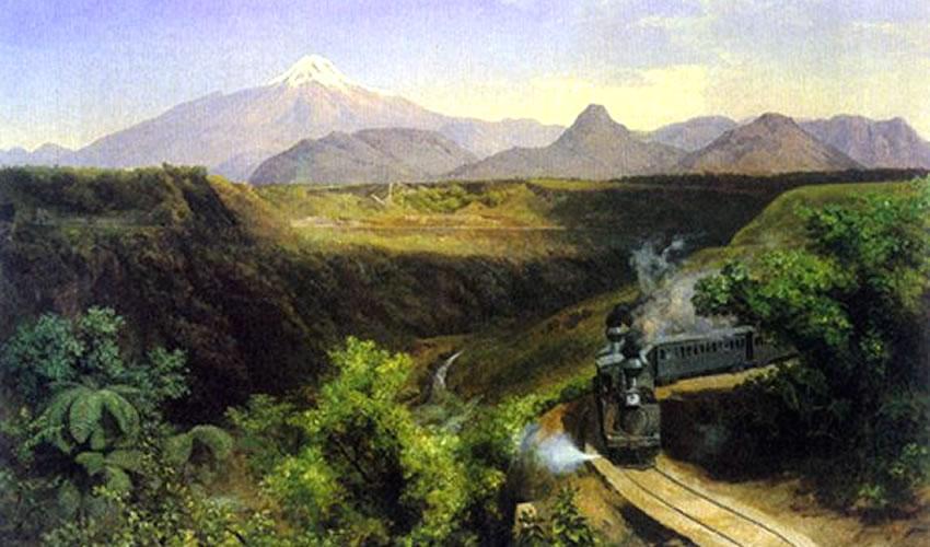 José María Velasco, El Citlaltépetl, óleo sobre tela, 1897