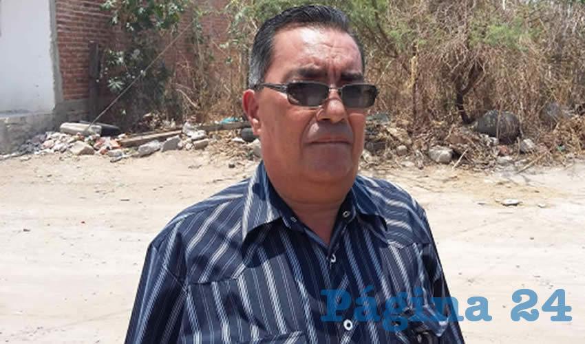 """En el evento que tendrá con funcionarios de la ONU, """"esperamos que el Ejecutivo del estado sea más honesto, (…) porque va a hacer el ridículo si trata de convencer a estas personas de que está haciendo acciones para detener la contaminación"""", ya que el evento es al pie de la cascada, señaló el activista Raúl Muñoz/Foto: Francisco Tapia"""