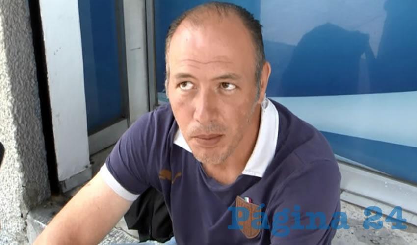 """""""Sí creo que sería buena, porque yo lo he visto en (la Ciudad de) México pero es por medio de las cámaras de seguridad que tiene el departamento de seguridad pública que tiene el gobierno del Distrito Federal"""", manifestó Arturo Ramírez"""