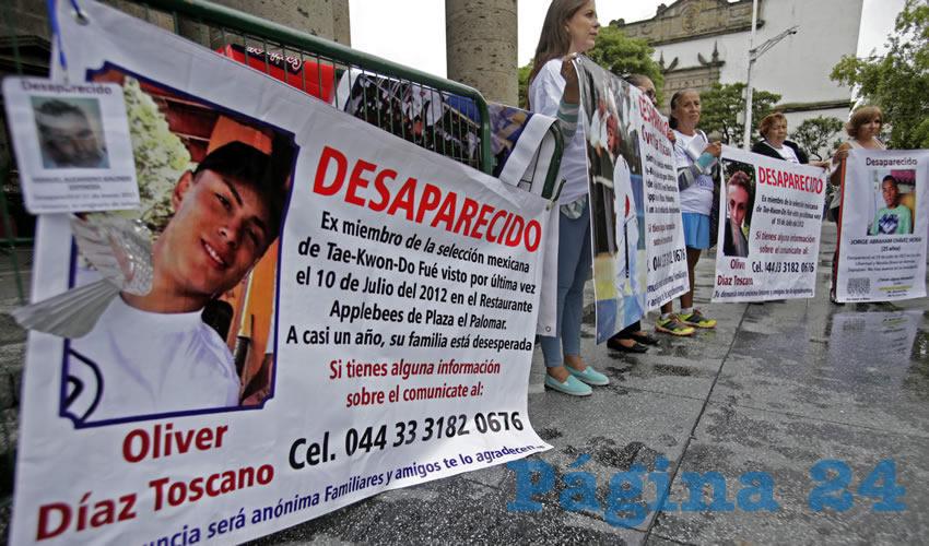 Se cuentan por miles los desaparecidos sólo en Jalisco, por lo que urge que se sume la sociedad, para visibilizar la problemática y forzar al gobierno a que trabaje