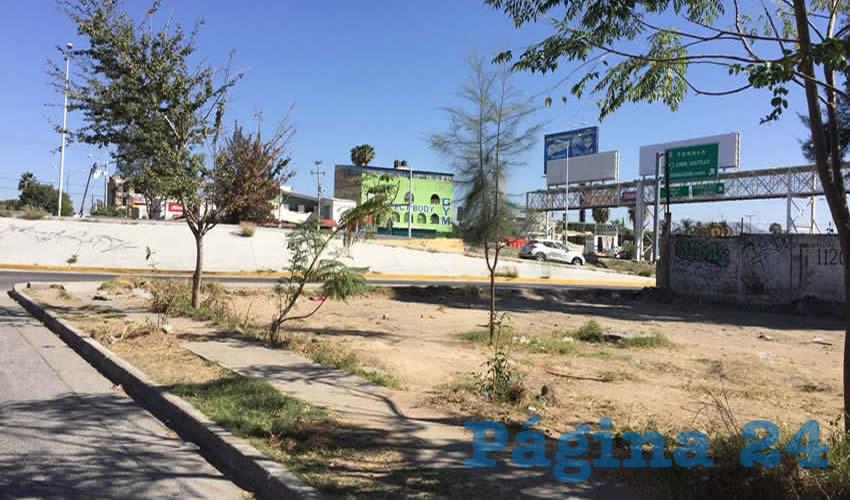 El espacio, ubicado en Periférico y la Prolongación Mariano Bárcenas, fue destinado desde la fundación del fraccionamiento para la instalación de un parque, de hecho, es parte del patrimonio municipal que fue otorgado a la administración pública por los desarrolladores como una donación y que por años estuvo ocupado por escombro/Foto: Francisco Tapia