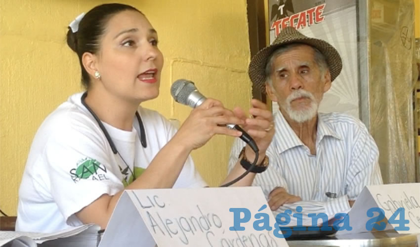 La Comisión Estatal de Derechos Humanos Jalisco resolvió que en efecto se debe respetar el parque y su vocacionamiento, así como evitar los conflictos con la ciudadanía, algo que a la fecha no ha cumplido el ayuntamiento, tronó la activista Gabriela Cervantes/Foto: Rafael Hernández Guízar
