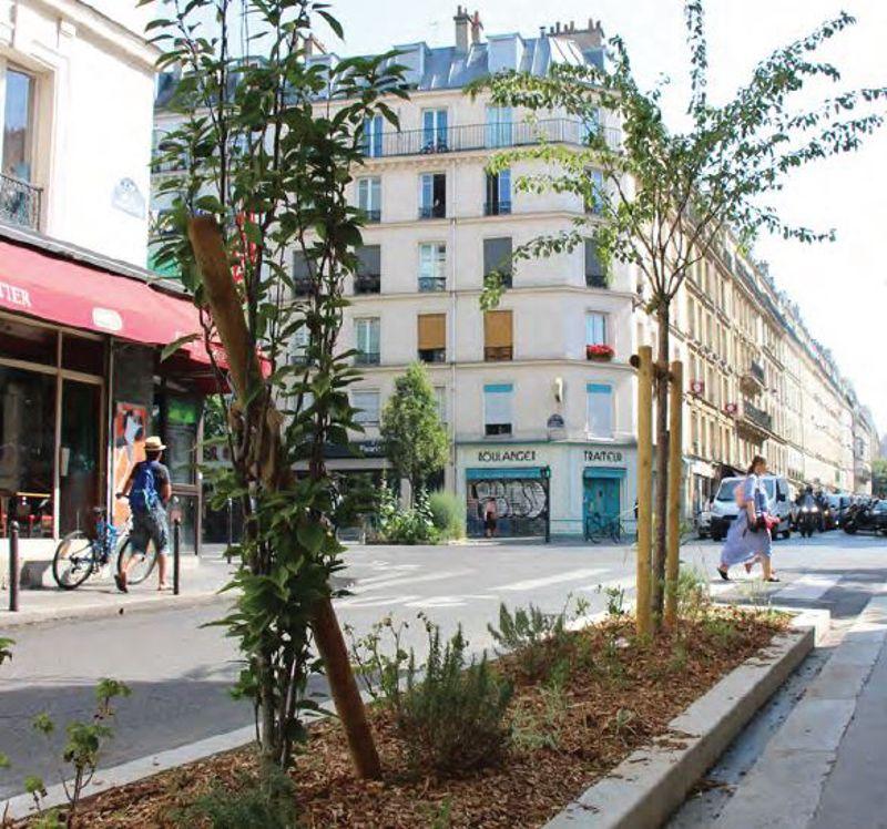 le vert de retour rue du chemin vert