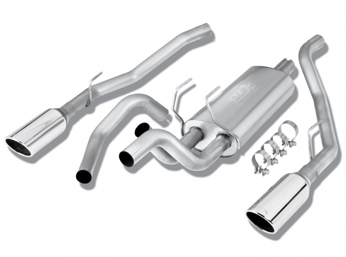 borla s type cat back exhaust system for dodge ram bor162189